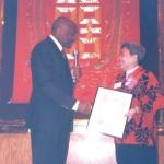 三藩市榮譽市民嘉許狀